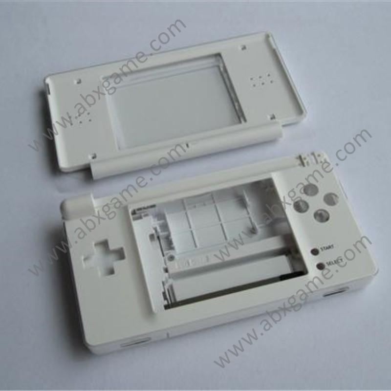 Full Housing Shell Case Cover Kit For Nintendo Ds Lite White Abxgame