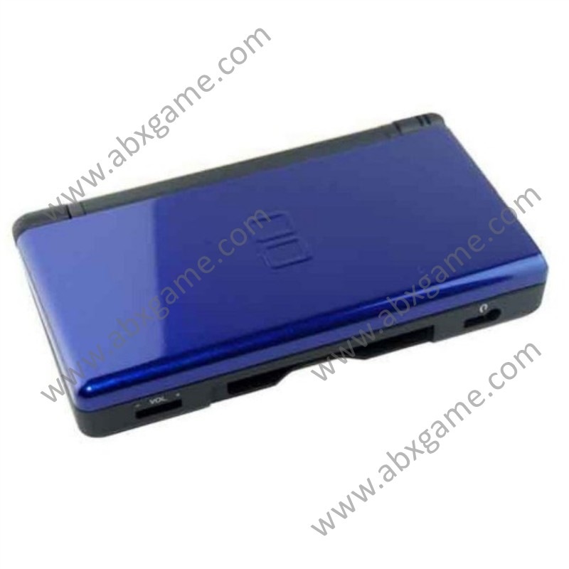 Refurbished Nintendo DS Lite NDSL Game Console System with AC Adapter &  Stylus – Blue/Black