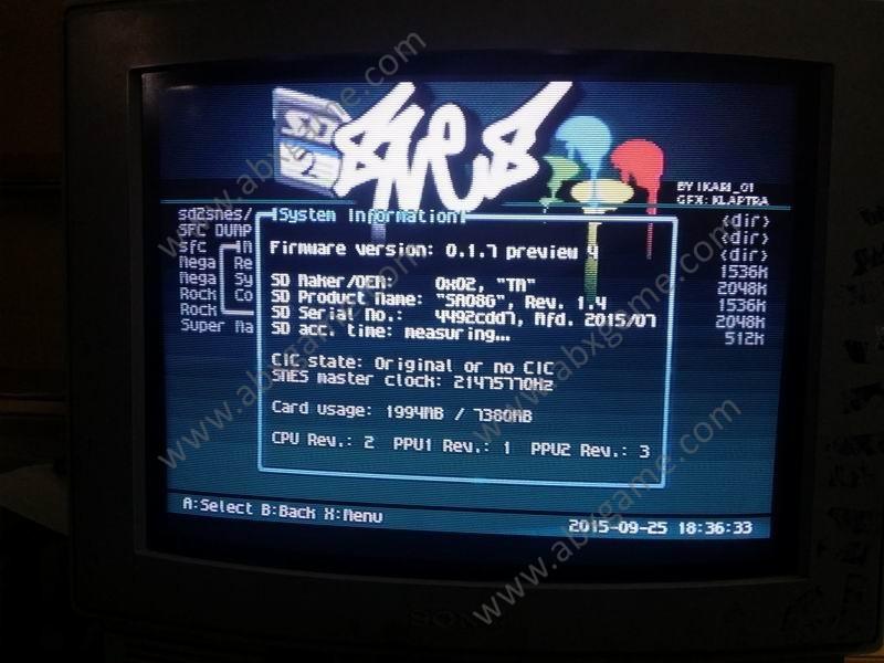 SD2SNES Flashcart REV F Version for Super Nintendo SFC SNES
