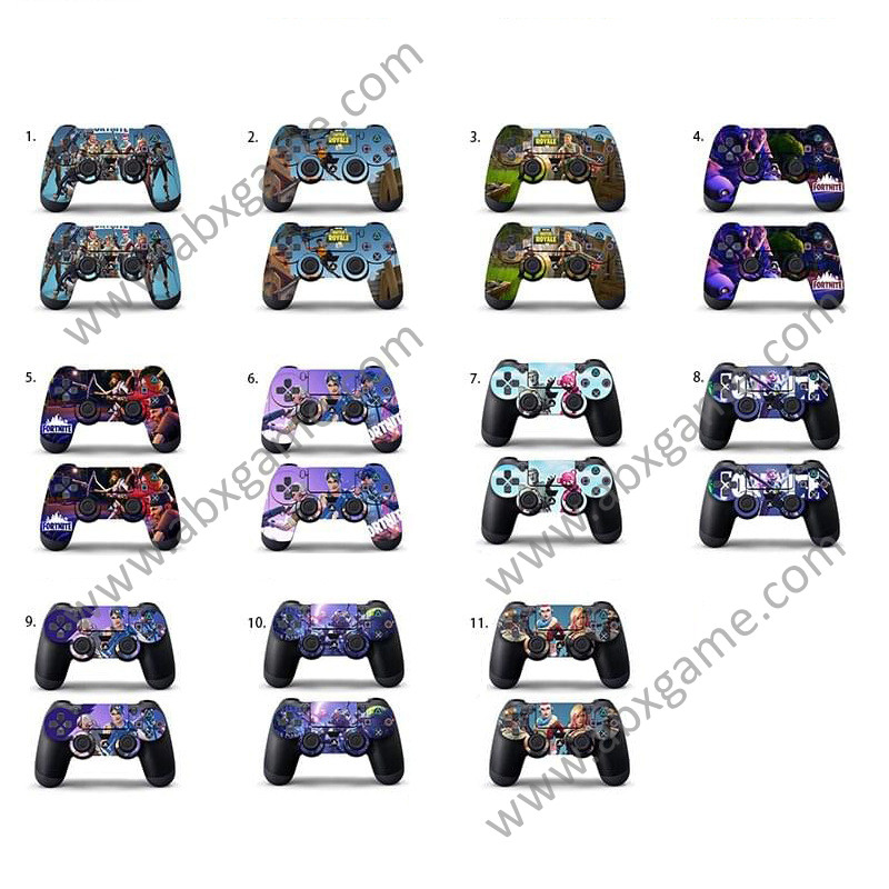 Protective Cover Sticker Skin for PS4 Controller - Fortnite (11 Themes)