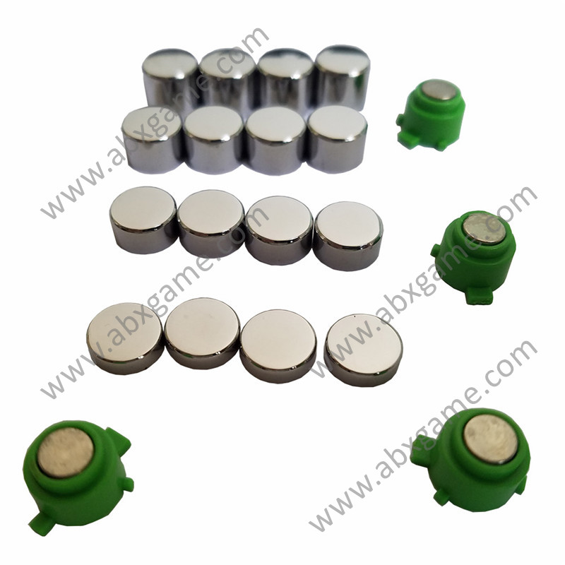 20 PCS DIY Metal Magnetic ABXY Set for PlayStation 4 PS4 Controller
