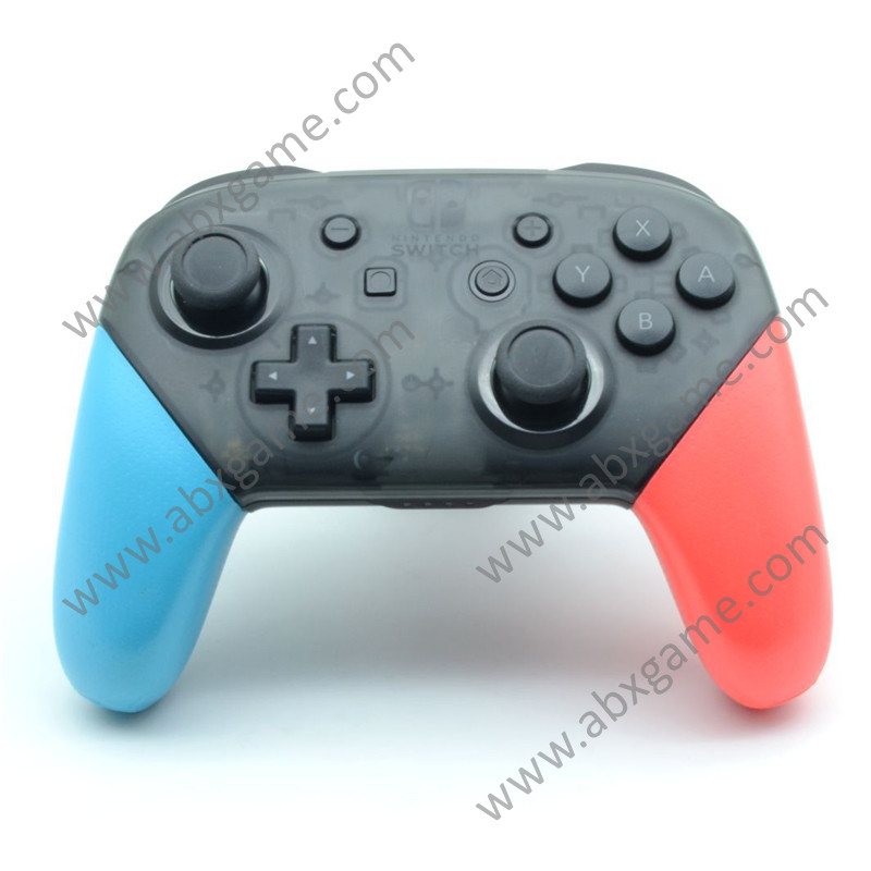 Soft Anti Sweat Grips For Nintendo Switch Pro Controller Blue Red Abxgame